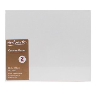 1Set Canvas Panel 10 x 12 Inches Canvas Panel Great for Students to Professional Artists(8Pcs)