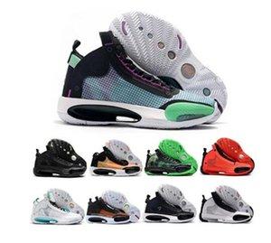 2020 Hot 34s Men Basketabll Shoes Nakeskinjordan 34 White Black Red For High quality Sports Sneaker Size 40-46
