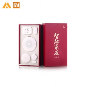 Xiaomi Mijia Smart Home Kit gateway janela da porta de Sensores Sensor Corpo fios interruptor Mi 5 em 1 Smart Kit Home Security
