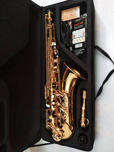 Новое прибытие Япония Yanagisawa T-902 Bb тенор саксофон музыкальный инструмент золотой тенор саксофон профессиональный Бесплатная доставка