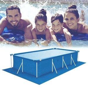 1 шт Большой размер бассейн Ткань Квадратный бассейн Травяной покров губ пыле покрытие Ткань Mat Обложка для Открытый бассейн Villa Garden