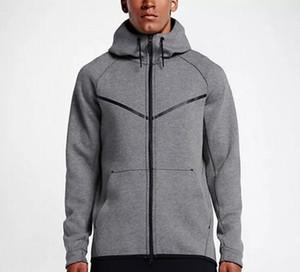 2020 new autumn winter Large size MEN'S HOODIE SPORTSWEAR TECH WINDRUNNER fashion leisure sports jacket running fitness jacket coat