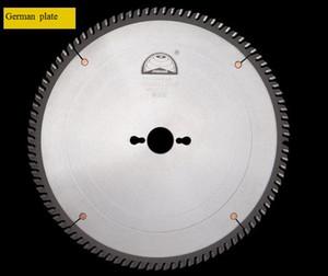 Le travail du bois scie circulaire lame de scie 300MM alliage de plaque d'acier importé de la lame de poussée de précision de la lame de l'Allemagne et le Japon BS061-32 Materia