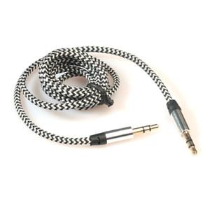 2019 3.5mm Stereo Oto Yardımcı Ses Kablo Erkek için Erkek Akıllı Telefon Pratik Aksesuarlar Fonksiyonlu Dropship için # 0607