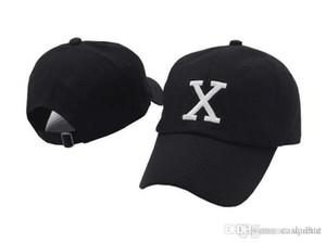 Sombrero del papá de Malcolm X Gorra de béisbol gorras xo gorras salvajes del gordo del swag del hueso de la moda Ajustable calle stuss Hip hop rap monopatín papá sombrero