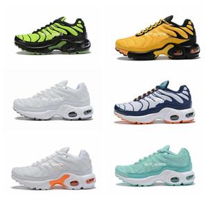 2019 nike air max tn جديد للأطفال أحذية الجري تنفس بنات أولاد الشباب مصمم الرياضة أحذية رياضية الحجم يورو 28-35