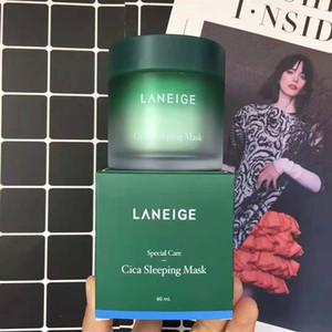 دروبشيبينغ جديد حار Laneige CICA Sleeping Mask 60ML الرطوبة الطازجة Nigh الجلد كريم العناية بالبشرة