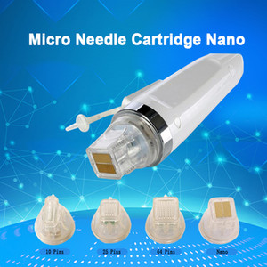 Micro Needle Cartridge Nano 10 25 64 Pins for Micro Needle Fractional RF Machine Acne Stretch Marks Removal