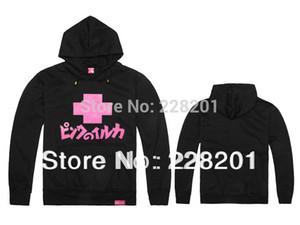 Herbst und Winter rosa Delphin HipHop Süd plus dicker Sweatshirt Pullover Hip-Hop lässig Mantel Hoody gute Qualität Fabrikpreis
