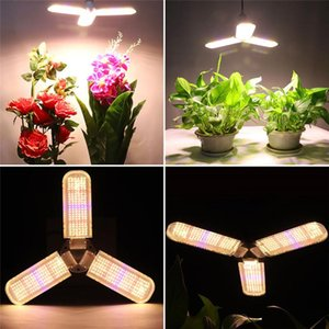 Full Spectrum 150W LED crece la luz E27 bombilla de la lámpara 360 ° iluminar Phytolamp Para la tienda del invernadero de interior planta de la flor Vegs Seed Box