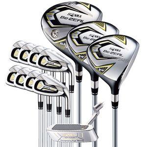 I nuovi uomini di golf club HONMA BEZEAL 525 Set completo di mazze da golf del driver ferri Putter di golf set pozzo della grafite ed il trasporto headcover libero