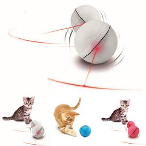 LED 라이트 레이저 볼 티저 완벽한 장난감에 대한 애완 동물 고양이 새끼 고양이 운동 레이저 장난감 고양이 훈련 동작 에이즈