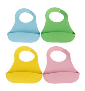 Cute Baby Bibs Feeding Saliva Waterproof Safe Silicone Neck Catch Bid keep your baby clean Table Napkin