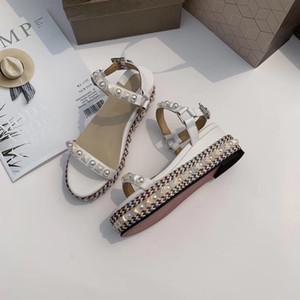 Caja incluida Sandalias de diseño de lujo para mujer Zapatos de diseñador de lujo Zapato de vestir de color azul Mujer Sandalias de diseño de lujo