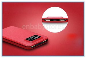 E Slim 20000mah Ultra Thin High Capacity Power Bank With Digital Display 2 Usb Output Free Shipping