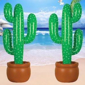 Gonflable Cactus Épaissir Pvc Grande Inflation Réaliste Cactus Sauvage Ouest Mexicain Hawaiian Partie Décoration Plantes Tropicales GGA2644