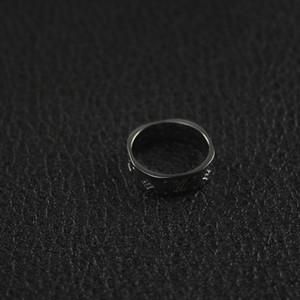 Мексиканские Унисекс Кольцо Классические нанограммовые-Кольца Подарки для женщин Человек Ins Hot Fine дизайнер ювелирных мужские титановые кольца Франция