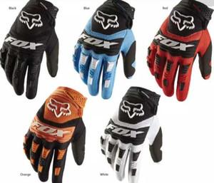 2020 yeni tilki kafası açık sürme eldiven motosiklet bisiklet yokuş aşağı eldiven nefes kış tam parmak eldiven