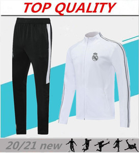 2020 Real Madrid Futbol eşofman ceket 20/21 camiseta de futbol Kroos ISCO BALYA Modric TEHLİKESİ Futbol ceket Survetement chándal