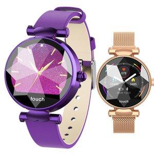 2019 B80 Умный Браслет Femme Спортивные браслеты часы для женщин кровяное давление сна трекер шагомер часы женские PK S3 H1 h8
