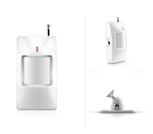 Дополнительно ! Домашней беспроводной PIR инфракрасный детектор движения датчик сигнализации для дома безопасности система охранной сигнализации GSM 433 МГц