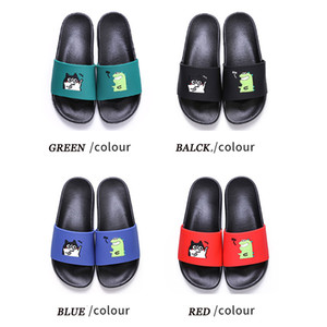2020 New Arrival home slippers for men women summer non-slip indoor couple summer home wear fashion cute 36-45