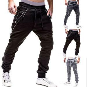 2019 Running Pant Men Sport 긴 Pants Urban Straight Leg Trouser 운동복 Fitness Workout Jogger Gym Sweatpant Plus Size M-3XL