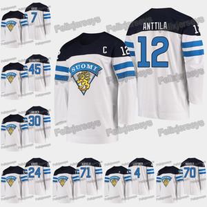 12 Marko Anttila 2019 Campeonato Mundial IIHF Toni Rajala Mikko Lehtonen Kristian Kuusela Kevin Lankinen Jussi Olkinuora Kaapo Kakko Camisetas