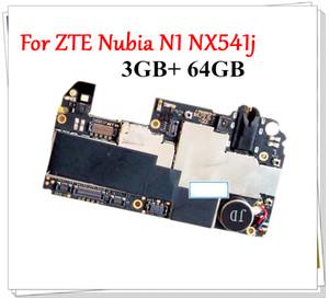 transporte desbloqueado Original Para ZTE Nubia N1 N541J funcionando bem Mainboard 3GB + 64GB Motherboard Principal gratuito