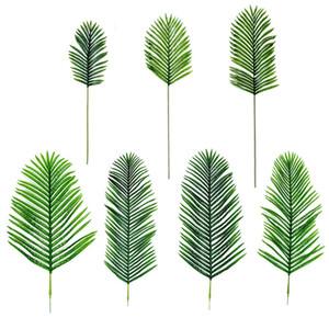 Sahte Ayçiçeği Home Kitchen Parti Dekorasyon El Sanatlarının için DYI Leaves 4colors Yapraklar yaprakları Yapay simülasyon leavas