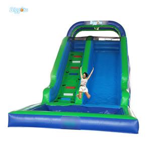 Playground inflável piscina piscina corrediça água corrediça de água jogando jogos de bilhar