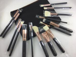 z.o.e.v.a 2019 Ensemble de pinceaux de maquillage pour la poignée Kit de pinceaux de maquillage pour cosmétiques professionnels Kit de pinceaux à base de fard à paupières pour la fondation
