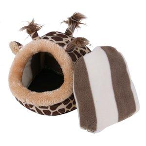 Плюшевые Белка Hamster Кейдж Guinea Pig Шиншилла Small Animal Bed Nest House Hedgehog Hamster Pig Deer кровать Hamster аксессуары
