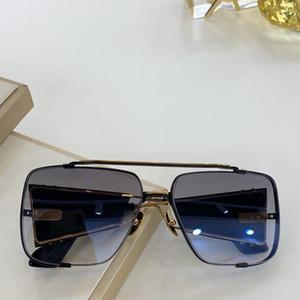 La nueva tapa SOULINER calidad Dos mens gafas de sol Gafas de sol hombre mujer gafas de sol estilo de moda protege los ojos Gafas de sol Gafas de sol