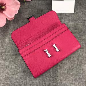 패션 여성 톱 품질 지갑 유명 브랜드 지갑 여성 디자이너 지갑 원래 상자 세련 된 클러치 백