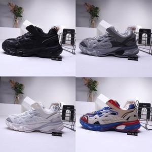 2019 yeni Sürüm 4.0 Tess S Paris eski baba ayakkabı Tasarımcısı Ayakkabı erkekler gomma maille siyah kadınlar Için Üçlü S Clunky Sneaker Rahat ayakkabı