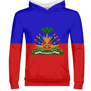 Гаити мужской молодежи студент на заказ имя номер кофты флаг личности тенденция диких пар случайные мальчик пуловер одежда