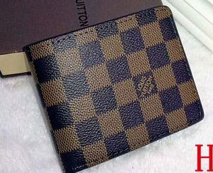 Presentes Carteira de moda preto Letra Folding Purse curto clássico para homens Mulheres Designers sup Preto Carteiras Bolsas