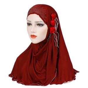2019 Design de Moda Cheap Chiffon Mulheres menina Hijab alta qualidade Malásia muçulmanos Cores sólidas da dobra do lenço Hijab