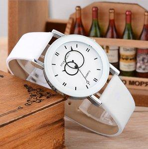 Fashion men Watch New design gentleman creative geometric pointer Round 3D dail young Unisex Student quartz watches