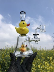 HOT SALE !Fab Egg very great Recycler Bongs Turbine Perc Glass Bonngs Turbine Peg Unique Oil Dab Rigs 14mm Joint Water Pipes With Heady Bowl
