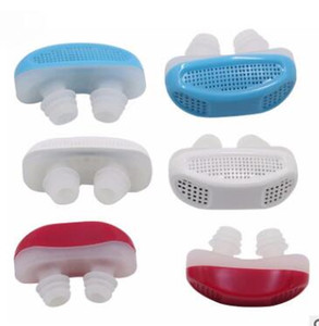 New Arrival 2 In 1 Anti Stop Snoring Snore Free Magnetic Silicone Snore Stopper Sleep Device