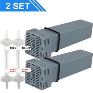 MOYEAH CPAP картридж угольный фильтр комплект для SoClean 2 картриджных фильтра с обратными клапанами для Cpap очиститель дезинфицирующее средство дезинфектор