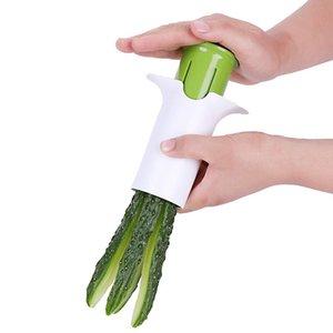 Légumes Diviseur multifonctionnelles Cuisine concombre Diviseur carotte Fraise Slplitters Gadget Outils de coupe de fruits de légumes