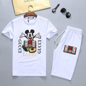 Homens Treino Define Outfit Suits sólidos homens homens terno s shorts sets t designer de verão roupas calções de designer calças corredores de verão