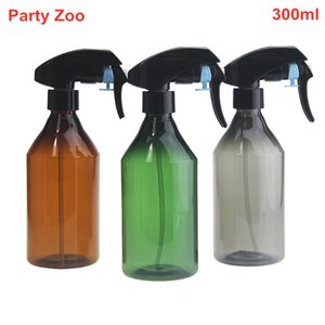 300ml Empty Spray Bottle For Cleaning Liquid Gardening Trigger Water Sprayer Plastic Transparent Alcohol Liquid Storage Bottle