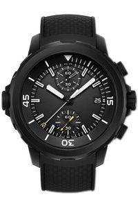 Venda quente Mens Watch aquatimer FAMÍLIA IW379503 VK Multifunction Chronograph Preto 42MM Dial Black Rubber Strap Sapphire relógio de pulso