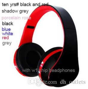 newest 3.0 wireless headphones with w1 top quality bluetooth over ear headsets by connect sealed free DHL drop ship