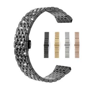 Best Gift Diamond Stainless Steel Strap Compatible for Apple Watch 42mm 38mm 44mm 40mm iWatch Series 5 4 3 2 1 Butrery Loop Wrist Bracelet