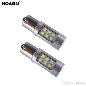 No error P21W BA15S 1156 Canbus 21 LED Bulbs 2835 SMD Rear turn signal light Reversing Light car Lights Sourcing